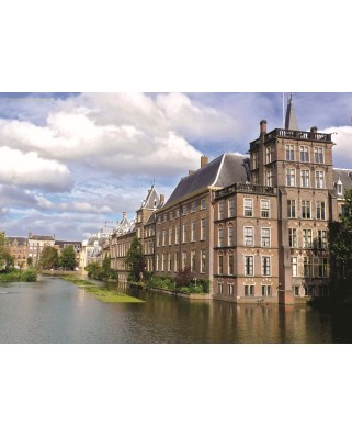 Puzzle PuzzelMan - Netherlands: The Hague, 1.000 piese (43189)
