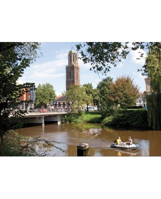 Puzzle PuzzelMan - Netherlands: Zwolle, 1.000 piese (43193)