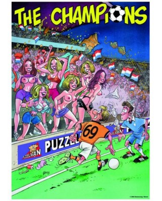 Puzzle PuzzelMan - The Champions : Sexy Fans, 1.000 piese (2250)