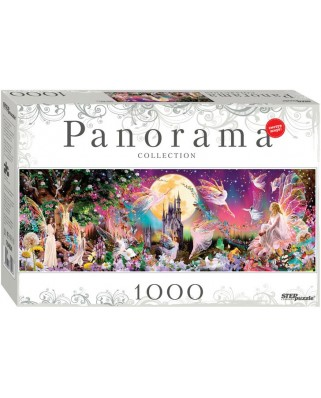 Puzzle panoramic Step - Dance of Fairies, 1.000 piese (60314)