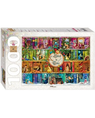 Puzzle Step - A Stitch in Time, 1.000 piese (61487)