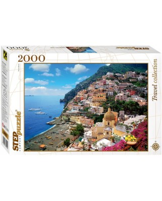 Puzzle Step - Amalfi, Italy, 2.000 piese (61496)