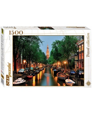 Puzzle Step - Amsterdam, 1.500 piese (60339)