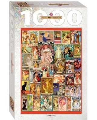 Puzzle Step - Art Nouveau, 1.000 piese (61497)