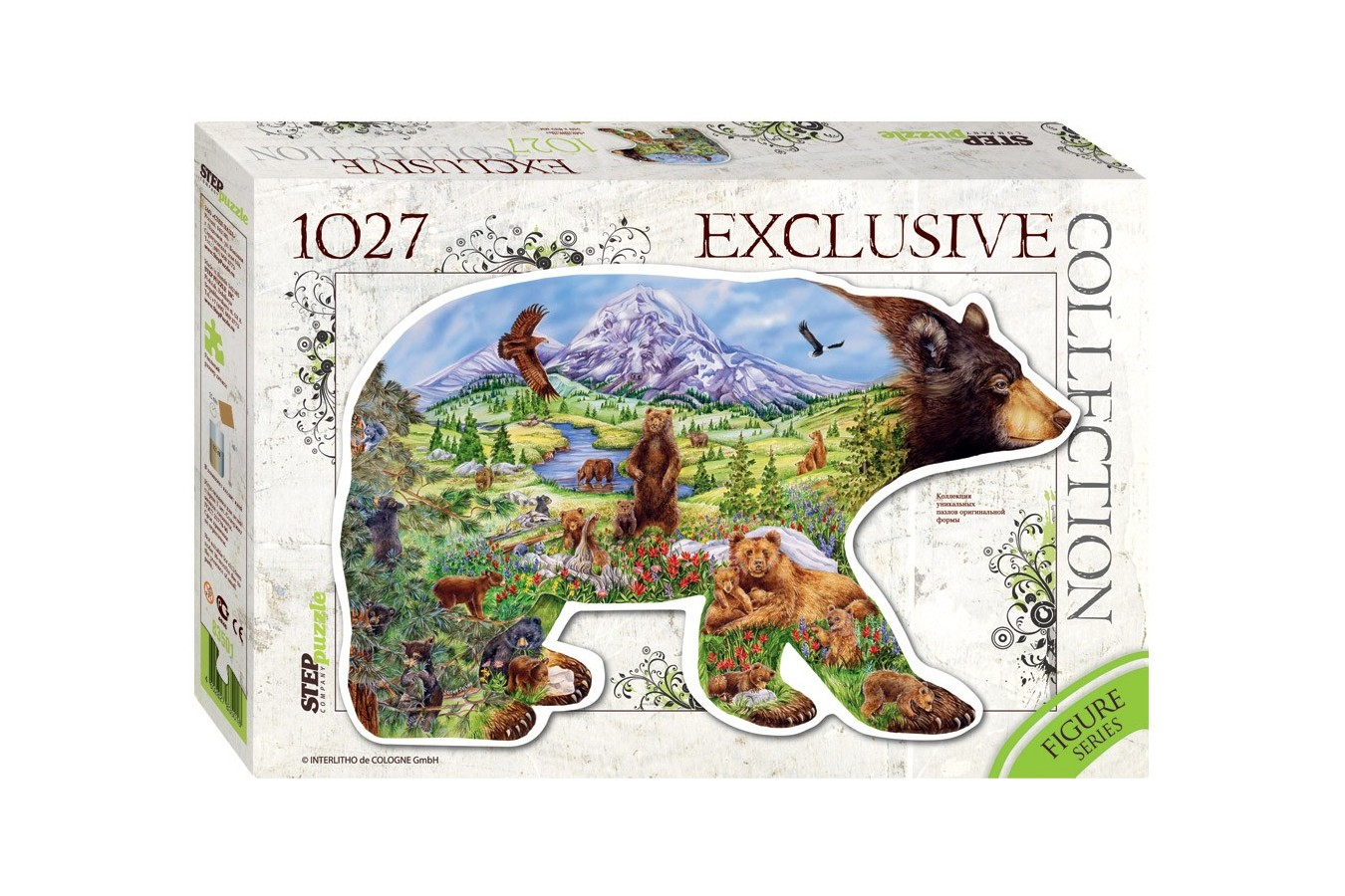 Puzzle Step - Bear, 1.027 piese (60351)