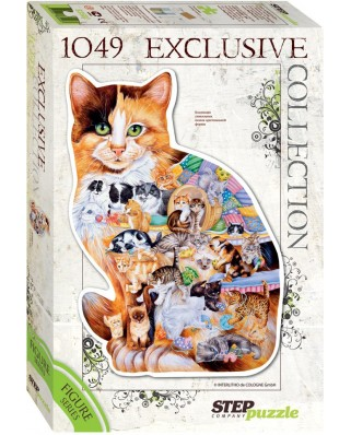 Puzzle Step - Cat, 1.049 piese (60352)