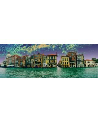 Puzzle panoramic Schmidt - Peisaj venetian, 1.000 piese (58279)