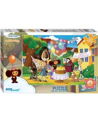 Puzzle Step - Cheburashka, 360 piese (63748)