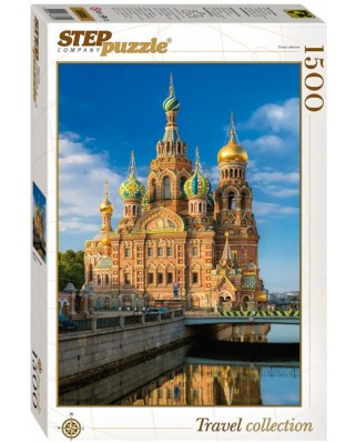 Puzzle Step - Church of the Savior on Blood, 1.500 piese (60344)