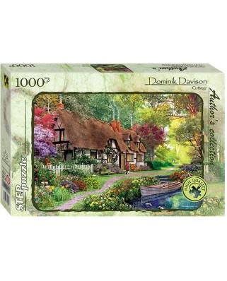 Puzzle Step - Dominic Davison: Cottage, 1.000 piese (60326)