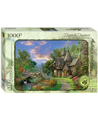 Puzzle Step - Dominic Davison: The Old Waterway Cottage, 1.000 piese (60324)