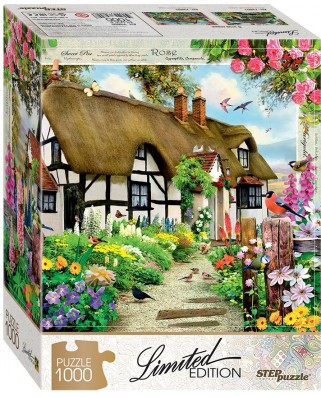 Puzzle Step - English Cottage, 1.000 piese (61489)