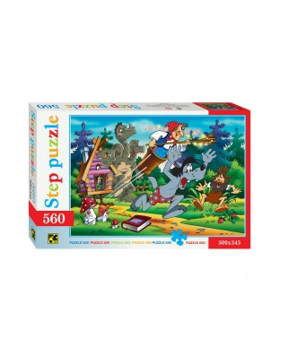 Puzzle Step - Fairytale, 560 piese (63759)