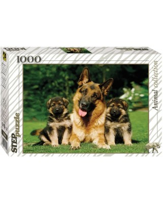 Puzzle Step - Friendy Family, 1.000 piese (60283)