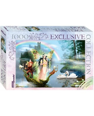 Puzzle Step - Glittering Series - Magic Lake, 1.000 piese (61505)