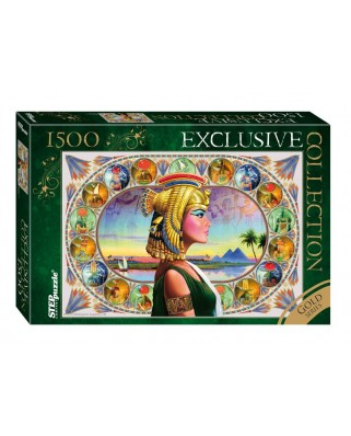 Puzzle Step - Gold Series - Nefertiti, 1.500 piese (63767)
