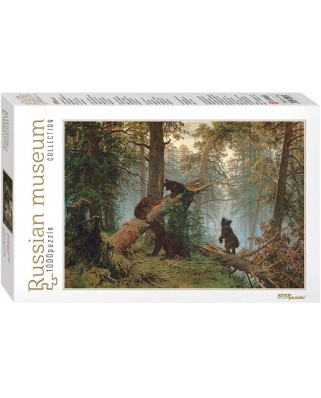 Puzzle Step - Ivan Shishkin: Morning in a Pine Forest, 1.000 piese (60311)