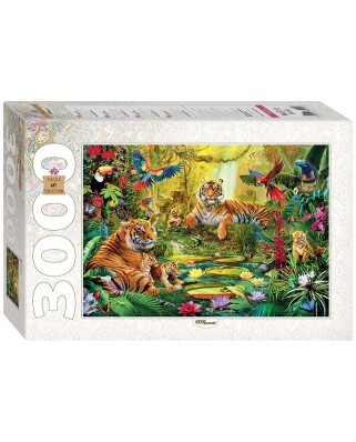 Puzzle Step - Jungle, 3.000 piese (60370)