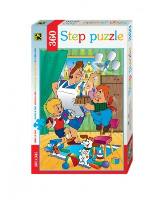 Puzzle Step - Karlsson-on-the-Roof, 360 piese (63737)