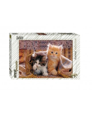 Puzzle Step - Kittens, 560 piese (60266)