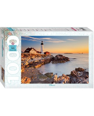 Puzzle Step - Lighthouse in Portland, 1.000 piese (61486)