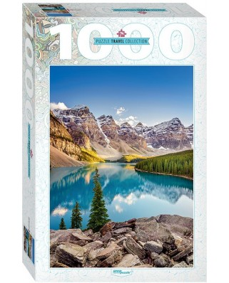Puzzle Step - Moraine Lake, Canada, 1.000 piese (60301)