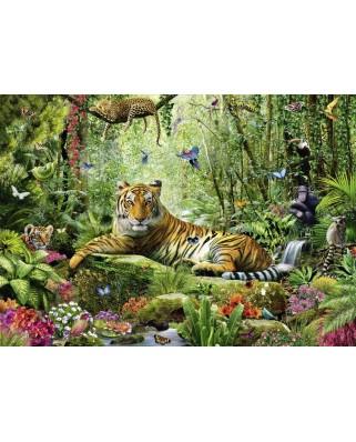 Puzzle Schmidt - Tigru in jungla, 1.500 piese (58188)