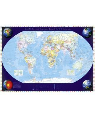 Puzzle Schmidt - Lumea noastra, 2000 piese (57041)