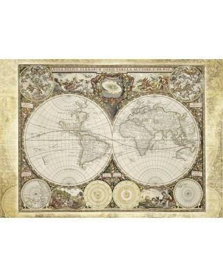 Puzzle Schmidt - Harta istorica a lumii, 2000 piese (58178)
