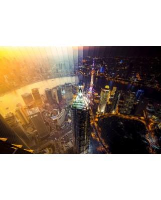 Puzzle Schmidt - Shanghai zi si noapte, 2.000 piese (58239)