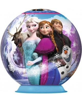 Puzzle glob Ravensburger - Frozen, 72 piese (12164)
