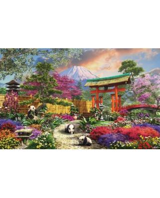 Puzzle SunsOut - Dominic Davison: Fuji Flora, 550 piese (63971)