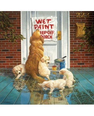 Puzzle SunsOut - Don Crook: Wet Paint, 1.000 piese (45045)