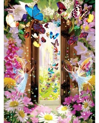 Puzzle SunsOut - Garry Walton: Fairy Door, 1.000 piese (64328)