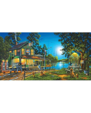 Puzzle SunsOut - Geno Peoples: Dixie Hollow General Store, 1.000 piese (64165)
