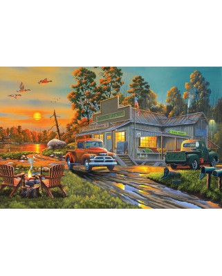 Puzzle SunsOut - Geno Peoples: Fresh Produce, 1.000 piese (64169)