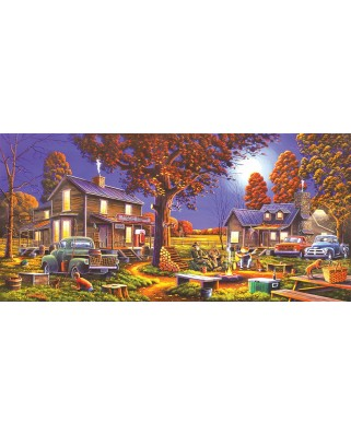 Puzzle SunsOut - Geno Peoples: Maple Spring Retreat, 1.000 piese (64167)