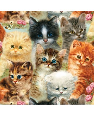Puzzle SunsOut - Giordano Studios - A Pile of Kittens, 1.000 piese (45050)