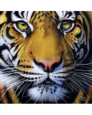 Puzzle SunsOut - Golden Tiger Face, 1.000 piese (45200)