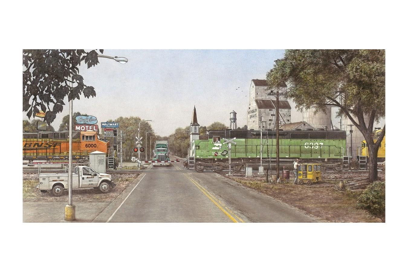 Puzzle SunsOut - Greg Garrett: Bacintyme Boulevard, 1.000 piese (64095)