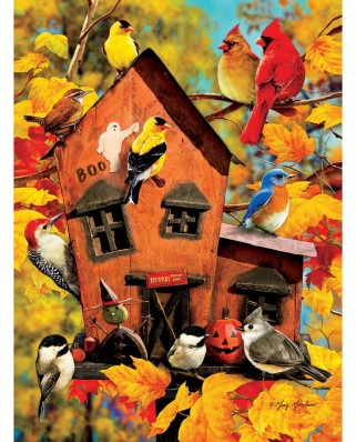Puzzle SunsOut - Greg Giordano: Fall Birds, 1.000 piese (64032)