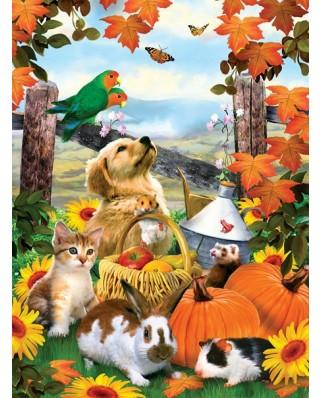 Puzzle SunsOut - Howard Robinson: Autumn Harvest, 1.000 piese (64211)