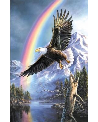 Puzzle SunsOut - James A. Meger: Eagle of Promise, 1000 piese (63947)