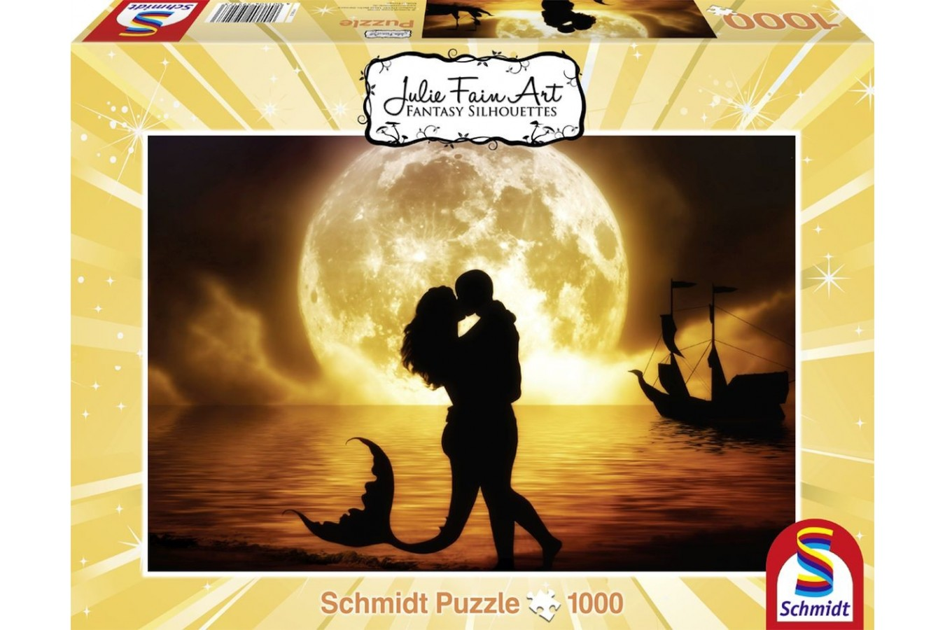 Puzzle Schmidt - Julie Fain: Sirena, 1.000 piese (59517)
