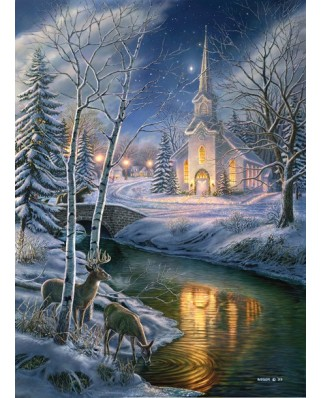 Puzzle SunsOut - James A. Meger: O Holy Night, 1.500 piese (44979)