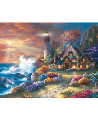 Puzzle SunsOut - James Lee: Guardian of Light, 1.000 piese XXL (63902)