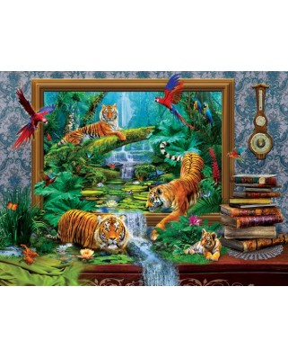 Puzzle SunsOut - Jan Patrik Krasny: Out of the Jungle, 1.000 piese (64359)