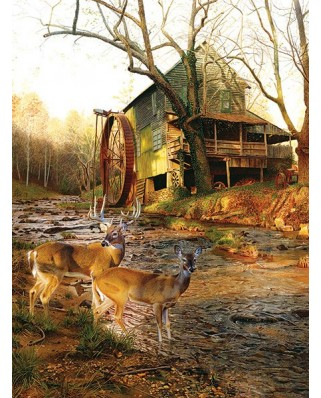 Puzzle SunsOut - Jay Kemp: Mill Creek Cross, 1.000 piese (63900)