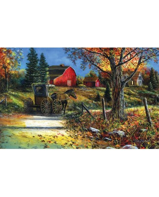 Puzzle SunsOut - Jim Hansel: Country Roadside, 1.000 piese (64294)