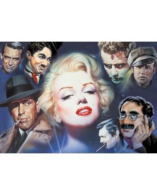 Puzzle Schmidt - Renato Casaro: Marilyn Monroe si prietenii, 1.000 piese (57550)